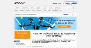 Ironbet Tennis Doubles