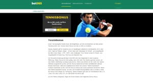 bet365 Tennisbonus