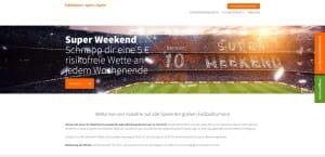 Betsson Super Weekend Angebot
