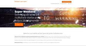 Betsson Super Weekend Angebot