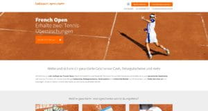 Betsson French Open Aktion