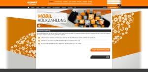 Expekt Mobil Rückzahlung