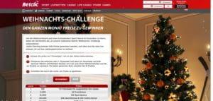 Betclic Weihnachts Challenge