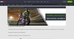 Netbet Fussball Bestenliste
