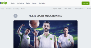 Betrally Multi Sport Mega Reward Aktion